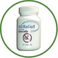 Nicrelief Stop Smoking No Nicotene Capsules